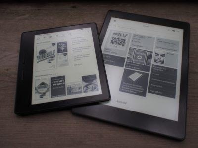 Oasis Kindle Aura One Kobo