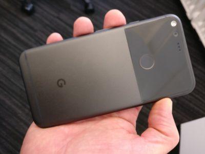 Le Google Pixel dans ma main!