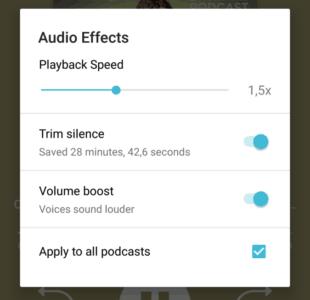 effets-audio-pocket-casts-vitesse-silences
