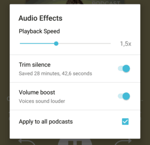 effets-audio-pocket-casts-vitesse-silences