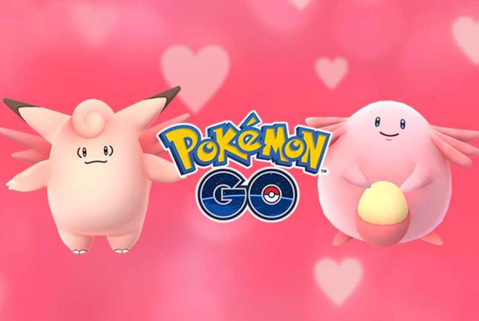 Saint-Valentin techno geek Pokémon GO