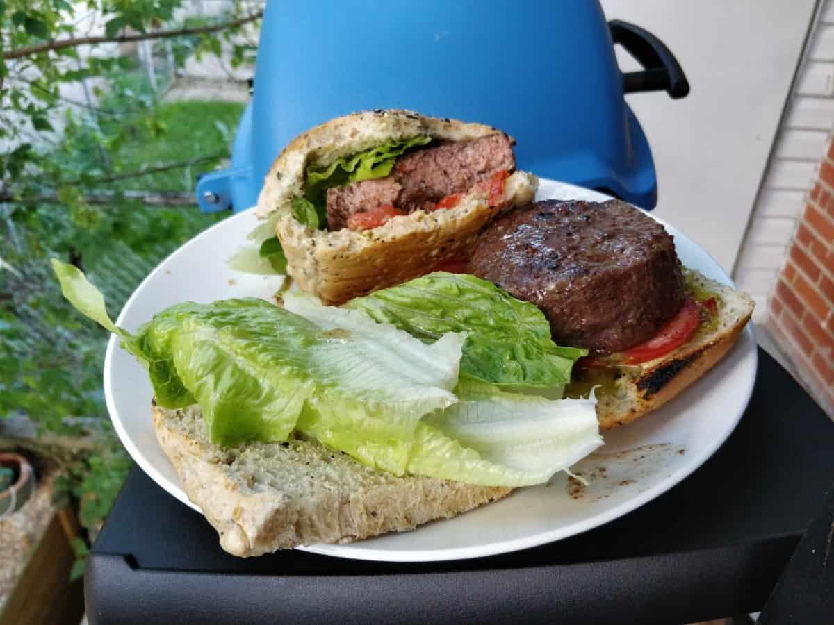Burgers BBQ sous vide anova joule cuisine techno