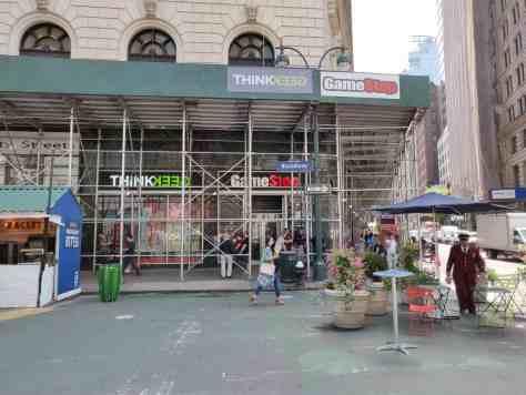 ThinkGeek New York Broadway gaming souvenirs geek Marvel