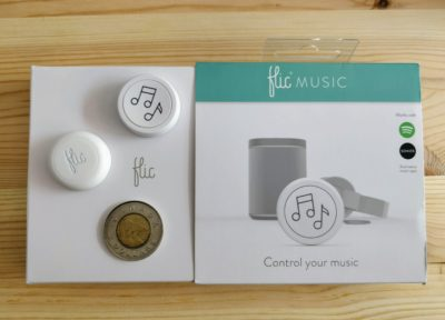 Flic button bouton