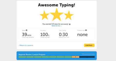 site apprendre taper gratuitement typing.com