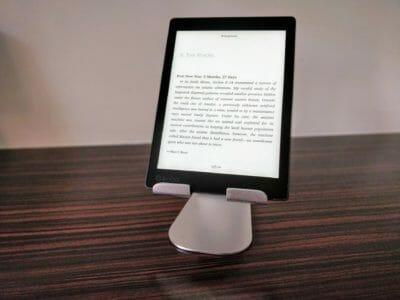 Support aluminium tablette lamicall