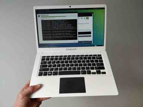pinebook android laptop 100$