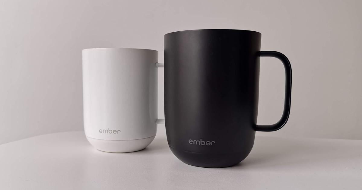 La tasse Ember: du café chaud jusqu'à la dernière goutte