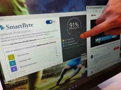 Smartbyte Dell inspiron network