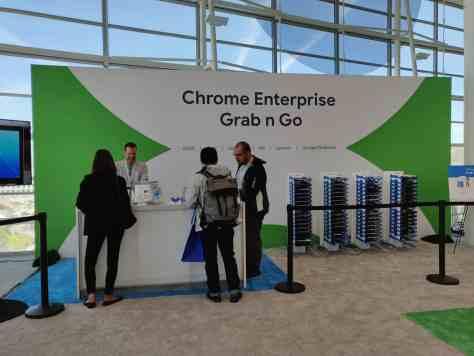 Chromebook grab and go Chrome