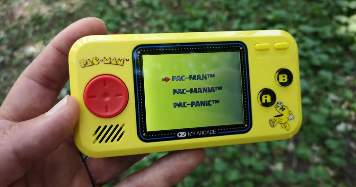 My Arcade Pac Man console portable