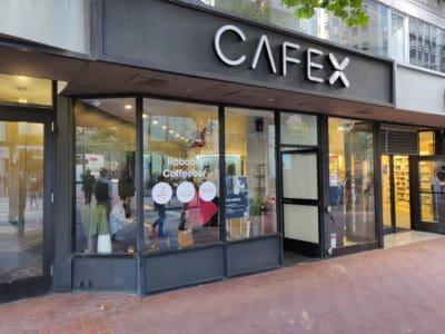 robotix cafex san francisco geek café robot
