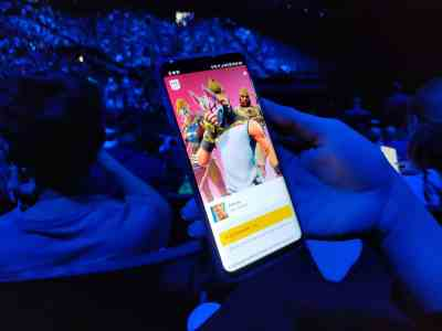 Fortnite Samsung unpacked 2018 Note 9