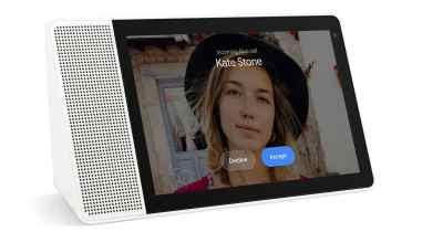 Lenovo Smart Display appels vidéos duo Google Home assistant vocal Canada