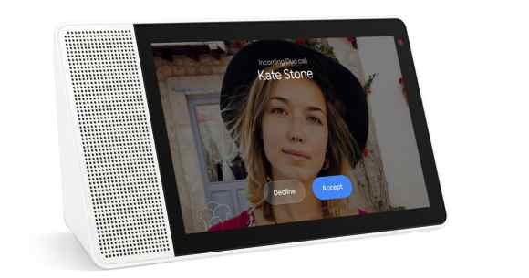 Lenovo Smart Display appels vidéos duo Google Home assistant vocal Canada
