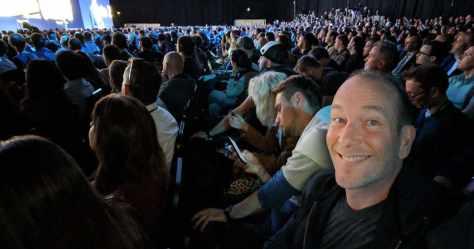 Y'avait du monde au lancement du Mate 20 pro de Huawei!