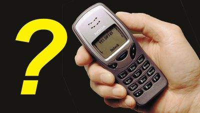 Nokia 3210 téléphone rétro