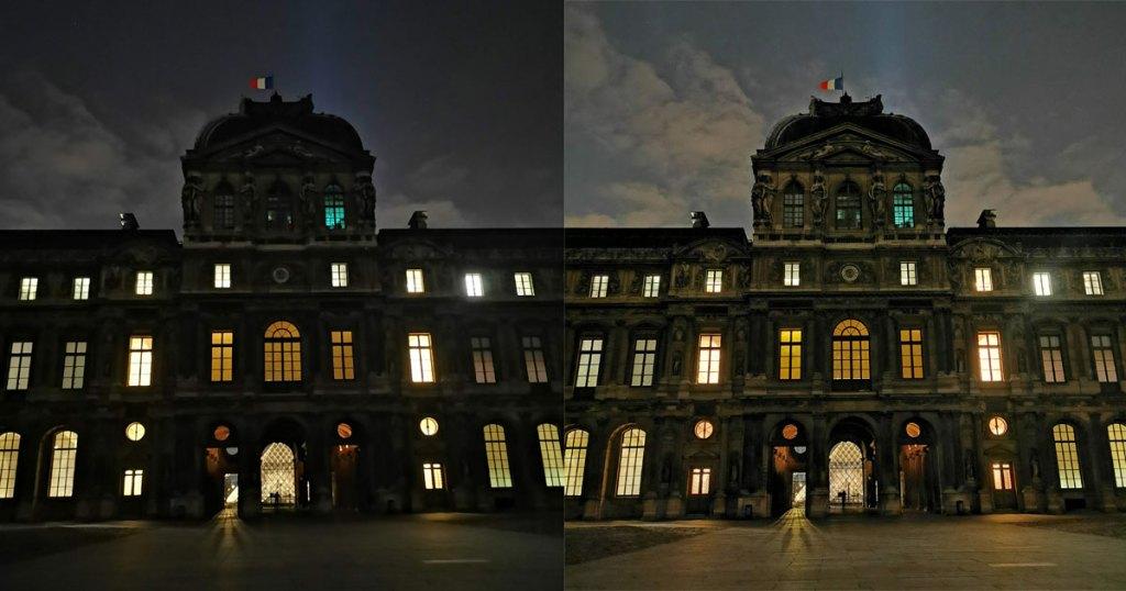 Mate 20 Pro P30 Pro Huawei nightshot photo de nuit