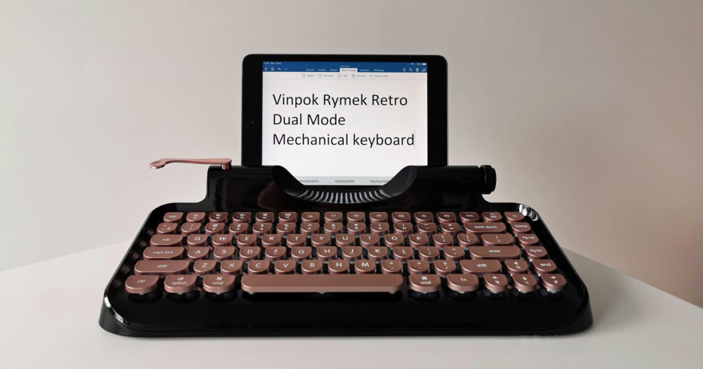 Vinpok Rymek Retro Dual Mode Mechanical Keyboard clavier sans fil bluetooth