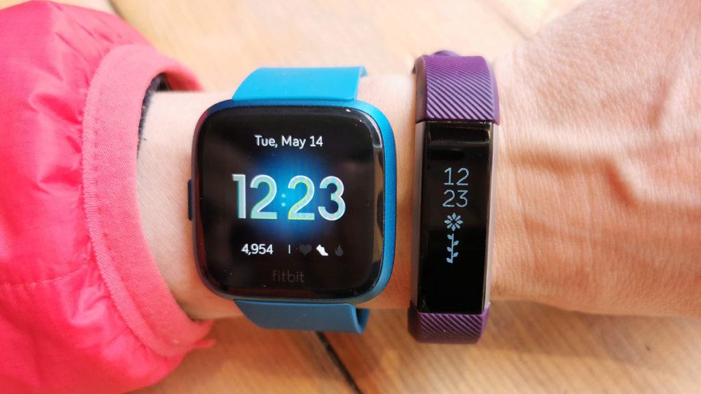 Fitbit Versa vs Alta essai comparaison