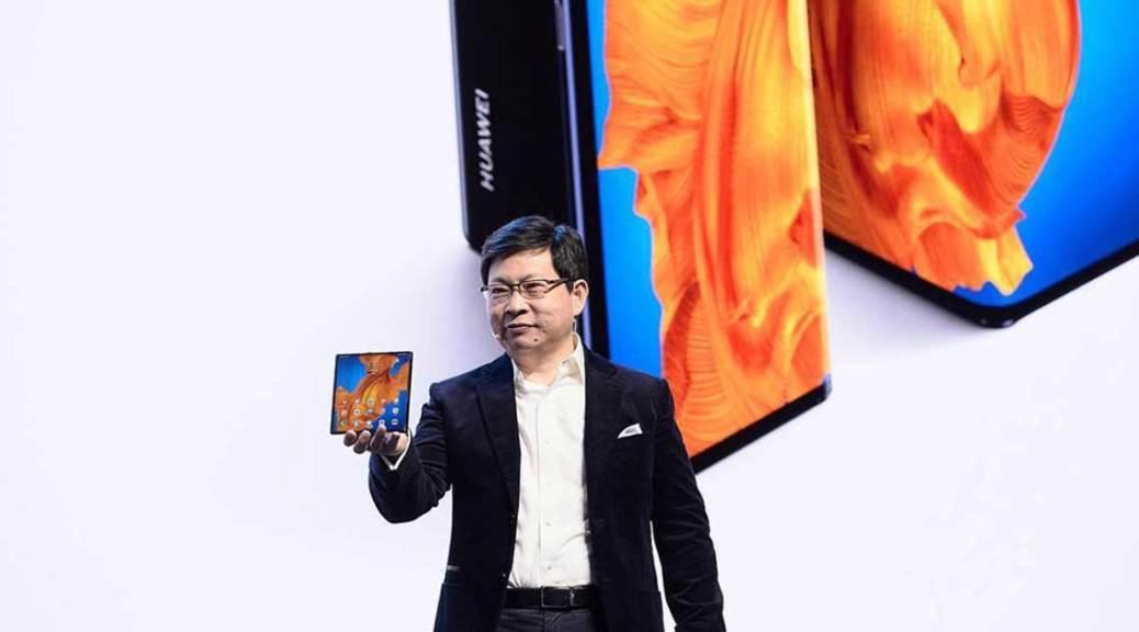 Téléphone pliable lancement Mate Xs Barcelone Huawei 2020