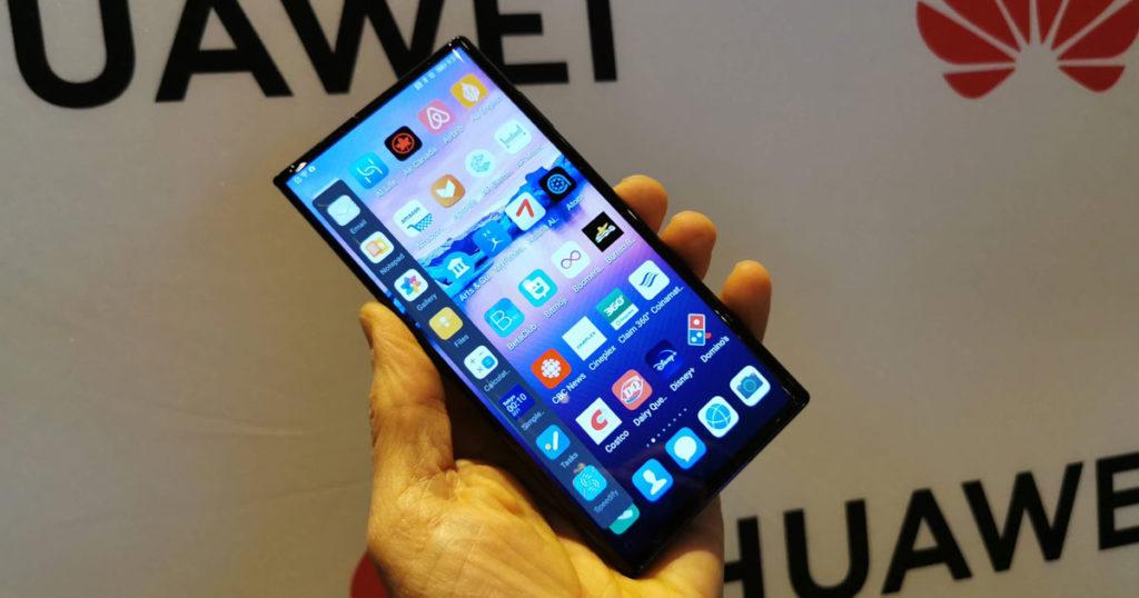 Huawei Mate Xs téléphone pliant pliable prix Canada sans services Google ni Play Store AppGallery