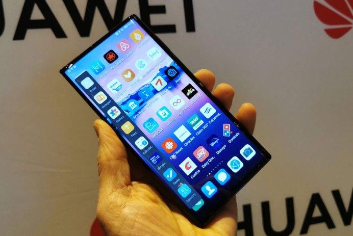Huawei Mate Xs téléphone pliant pliable prix Canada