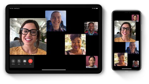 comment faire un appel Facetime en groupe