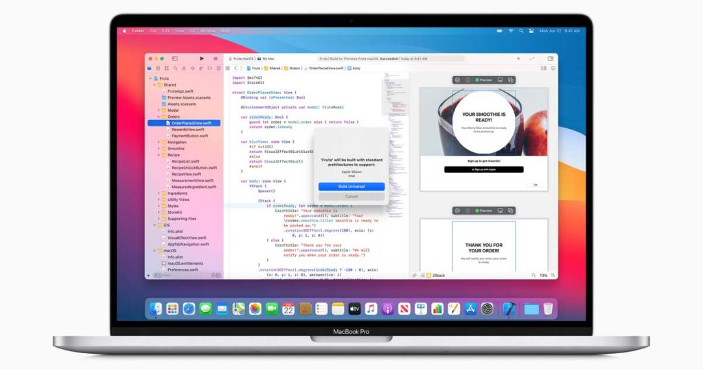 Apple Silicon processeur Intel WWDC 2020
