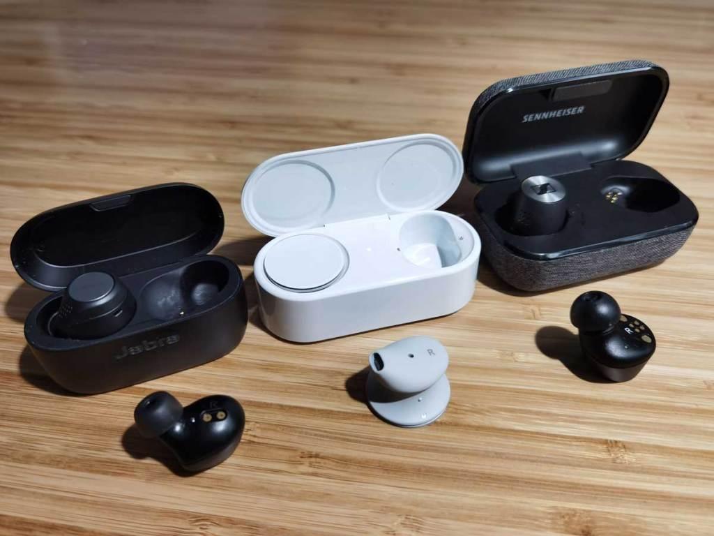Écouteurs sans fil Microsoft Sennheiser Jabra