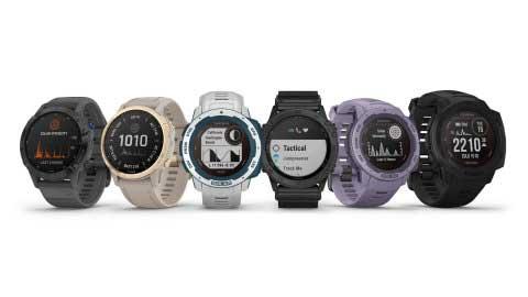garmin montres intelligentes sports connectées GPS