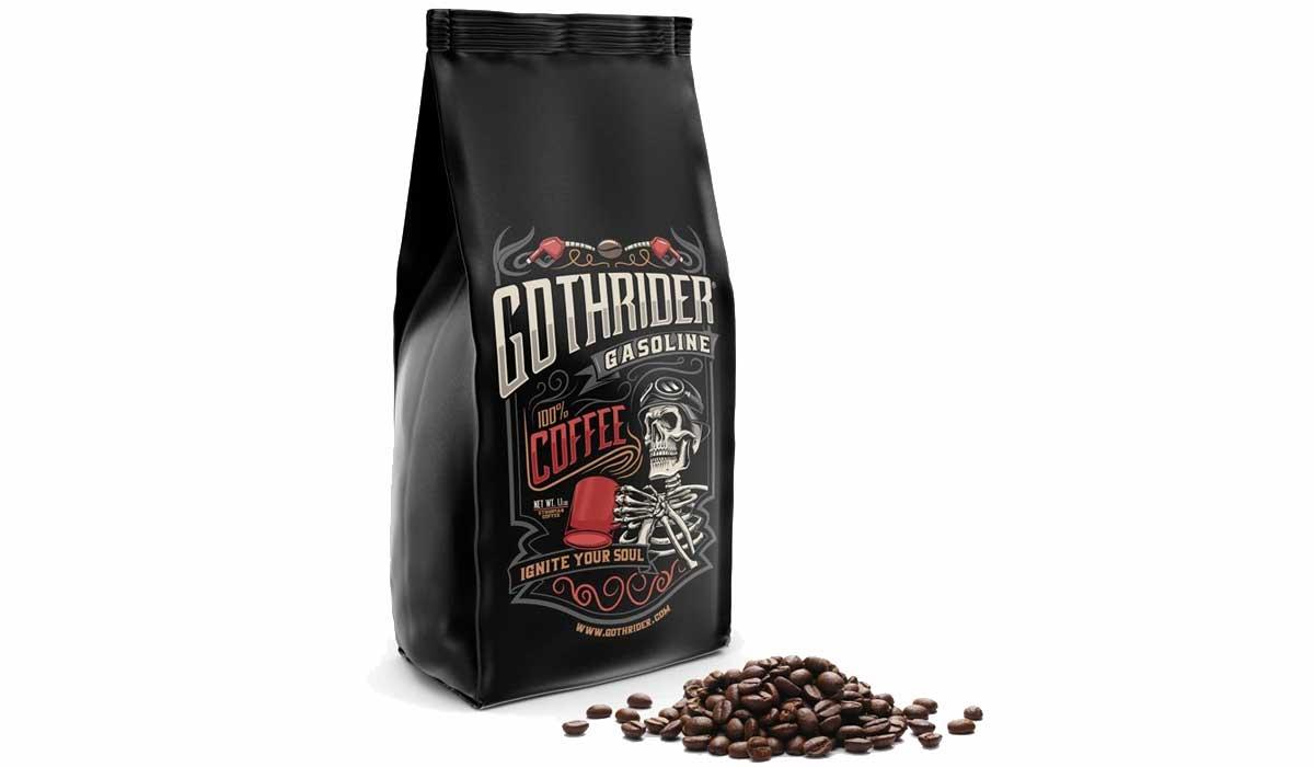 GothRider Café Montréal double caféine