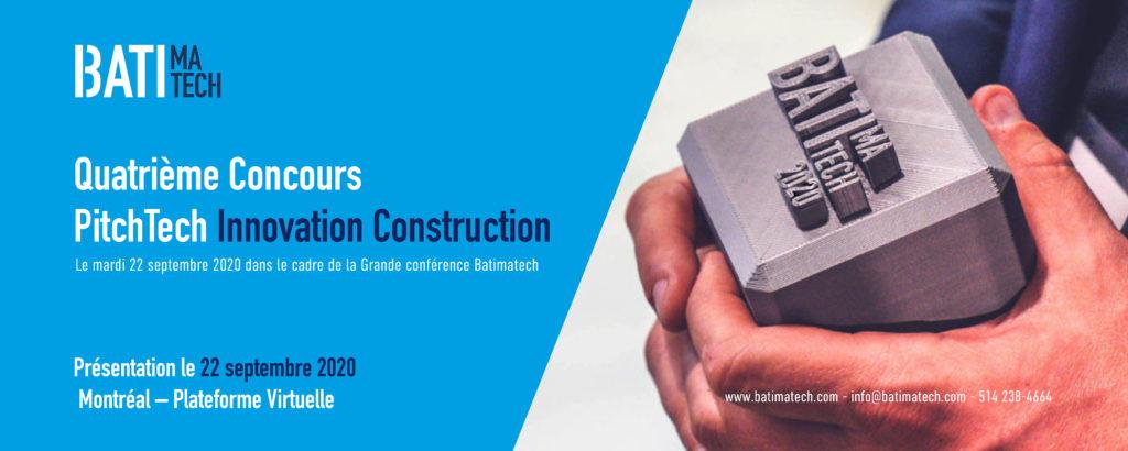Nouvelles technos Batimatech Pitchtech Innovation Construction