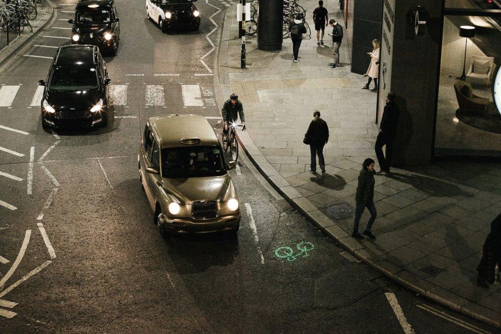 lampe vélo phare laserlight beryl