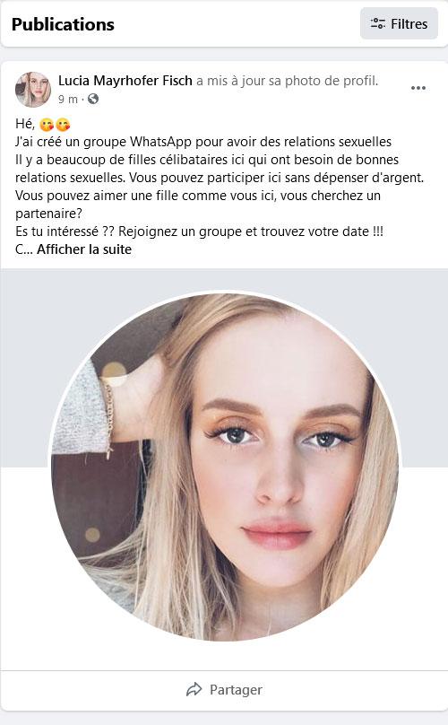 facebook club whatsapp invitation