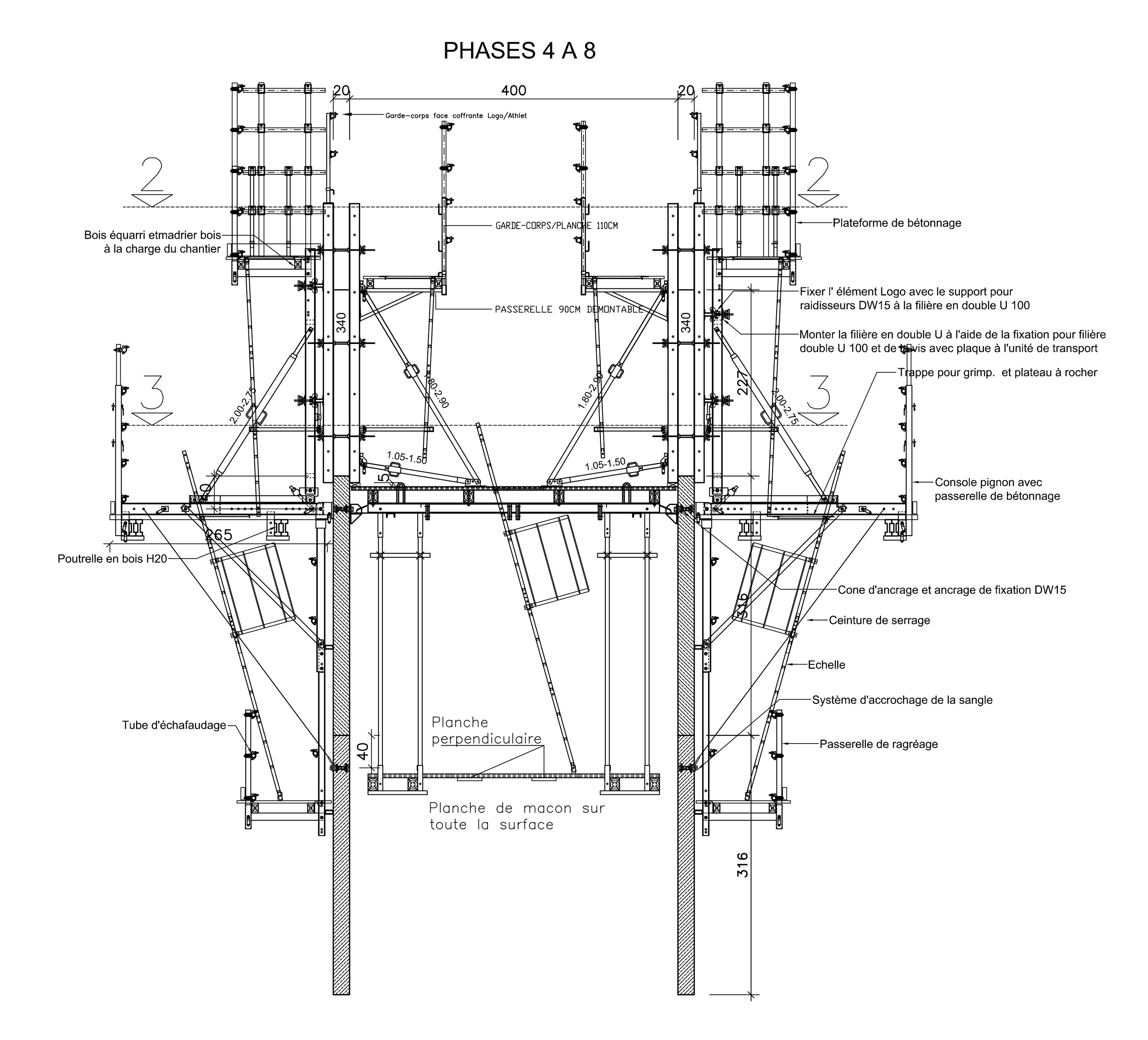 4th phase of formwork planning [ 3052 x 2764 Pixel ]