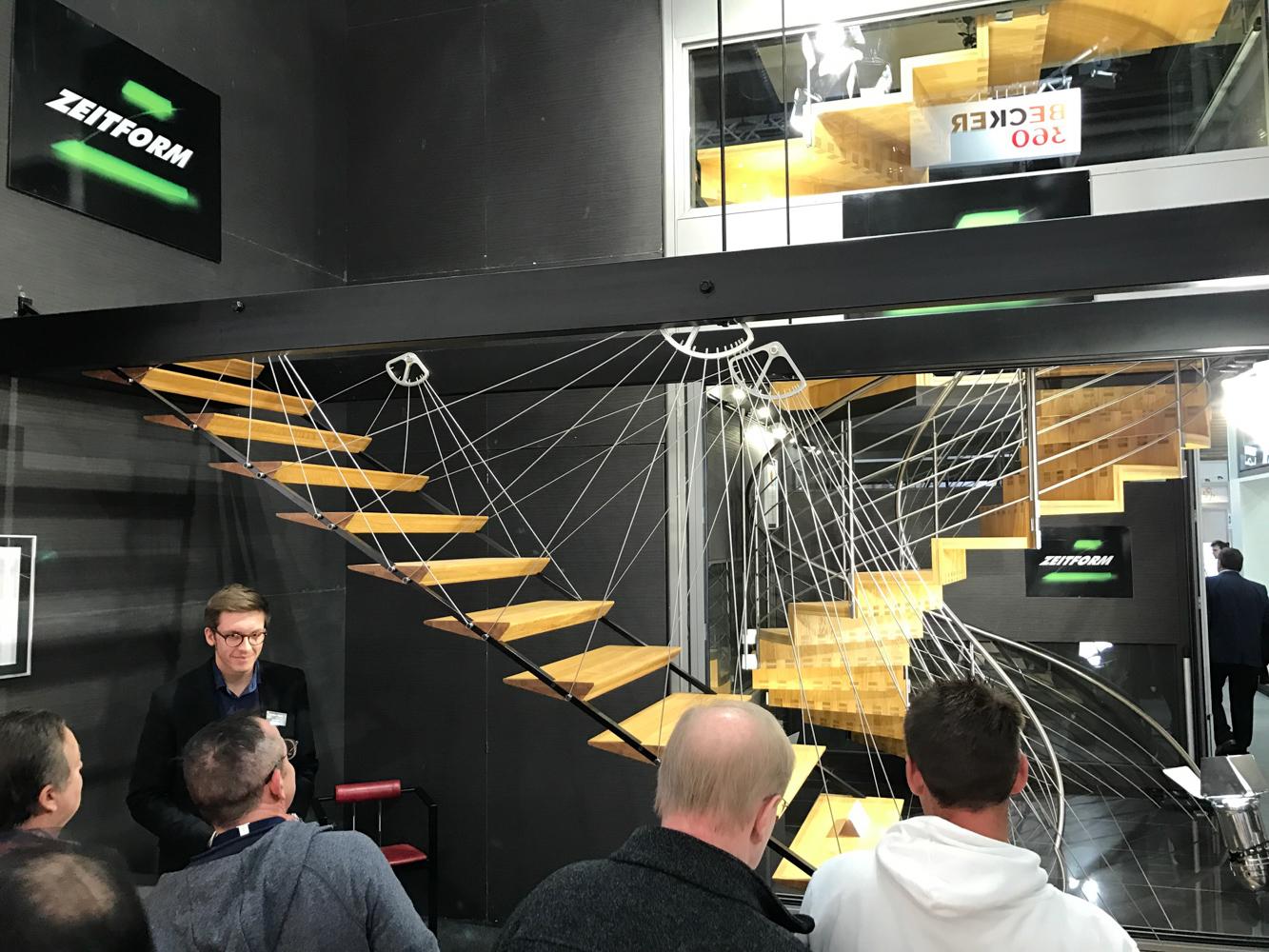spannende stiegenkonstruktionen auf der bau münchen - Paschinger Architekten