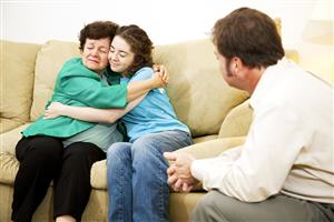 treatment may involve the family in therapy sessions
