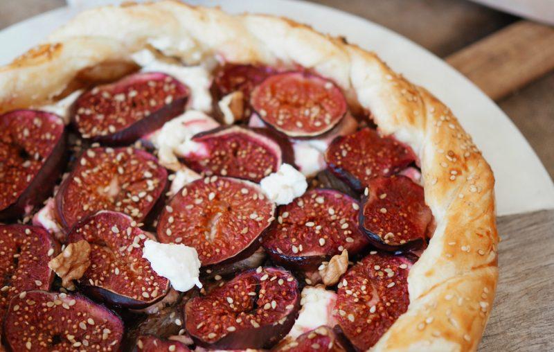 tarte aux figues, salée