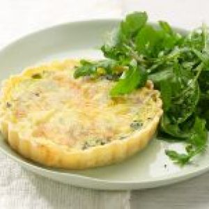 Chobani Spinach Quiche