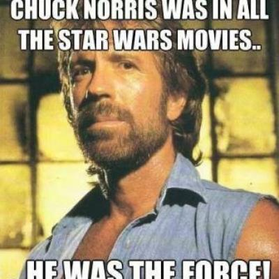 Chuck Norris is the force