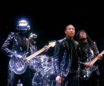 Daft Punk - Get Lucky ft. Pharrell Williams and Nile Rodgers