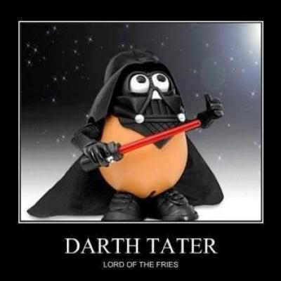 Darth Tater - Lord of the fries
