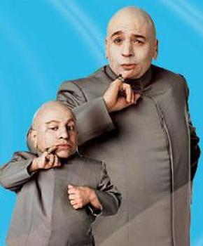 Dr Evil and Mini Me - Hard Knock Life