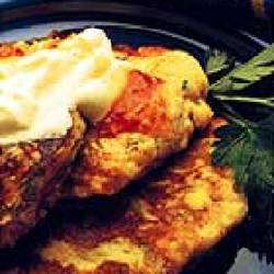 Sweetcorn And Zucchini Fritters