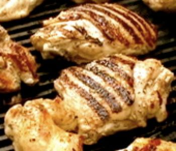 Lemon and Yogurt Marinated Grilled Chicken