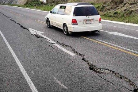 Seddon Earthquake 16 August 2013 road