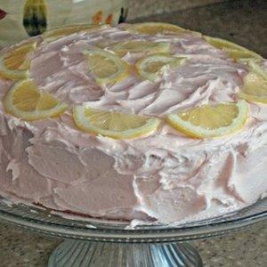 Pink Lemonade Layer Cake