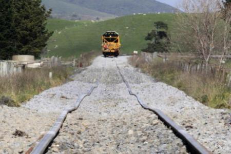 railway lines at Hauwai