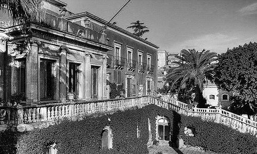 Villa Cerami in Catania, noble residence of the family– Today site of the Department of Law